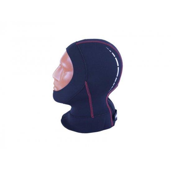 Шлем SARGAN Неро с молнией 5 мм