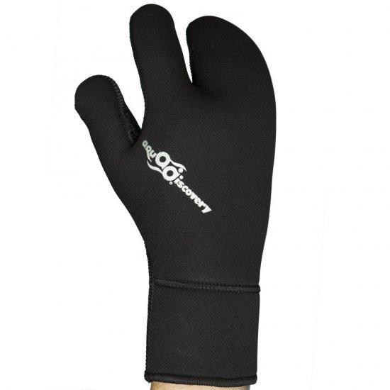 Перчатки AQUADISCOVERY Classic 3-х палые открытая пора