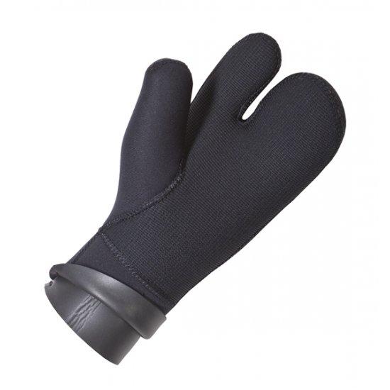 Перчатки AQUADISCOVERY  3-х палые с двойной обтюрацией