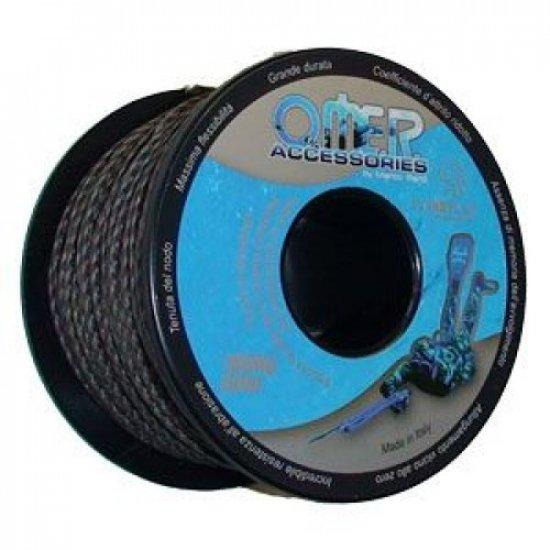 Линь OMER 2 мм чёрно-белый 120 кг
