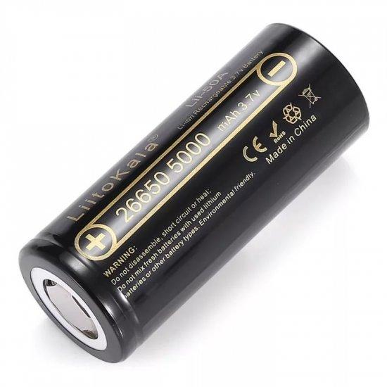 Аккумулятор LiitoKala Lii-50A 26650 5000mah