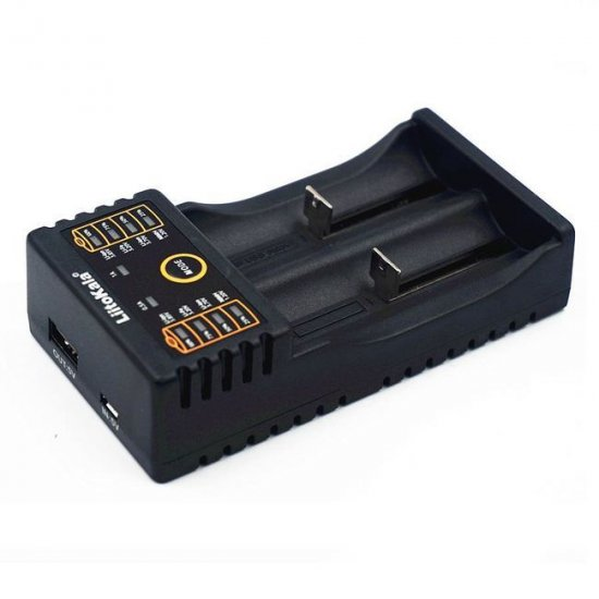 Зарядка для аккумуляторов LITOKALA 2х18650 220 V