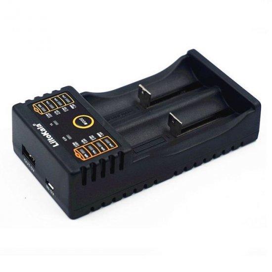 Зарядка для аккумуляторов 2х18650 220 V