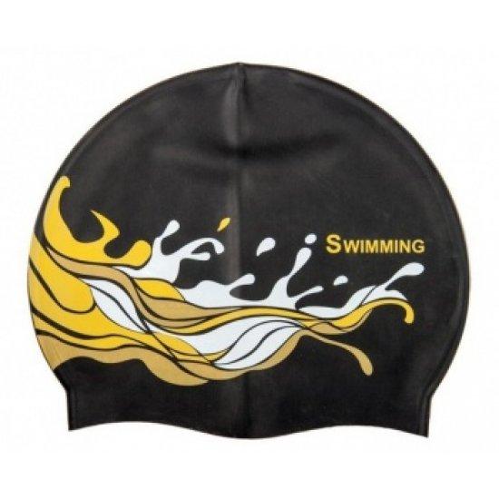 Шапочка для плавания SAEKO из силикон