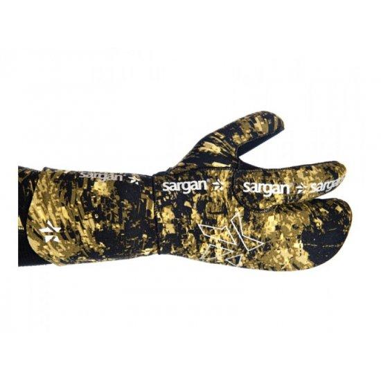 Перчатки SARGAN 3-х палые камуфляж Мечта пианиста