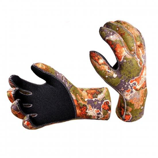 Перчатки AQUADISCOVERY Anatomic camo